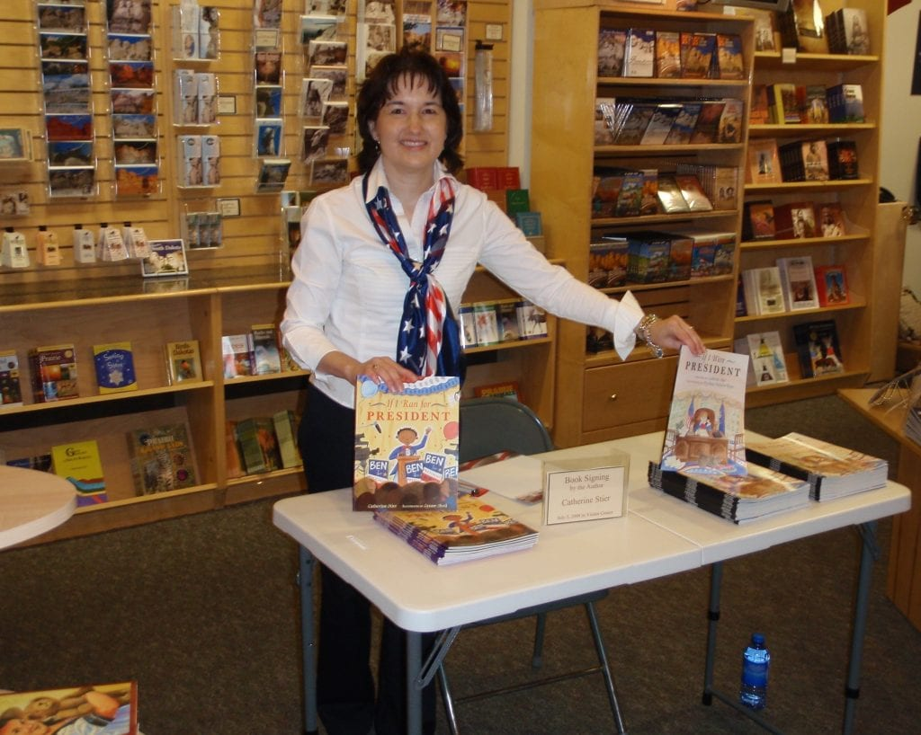 Book signing at Mount Rushmore